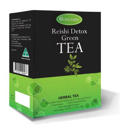 Reishi Detox Green Tea