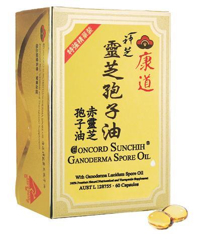 Concord Spore oil (60 soft capsules...new pack !!!)
